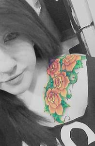 Rose Tattoo # 60 - Chic looking gorgeous with her yellow ...