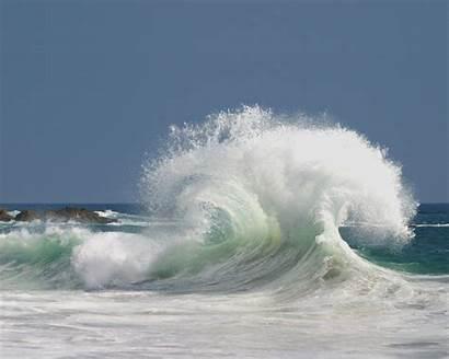 Ocean Water Waves Wallpoper Sea Wave Crashing