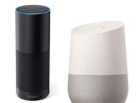Google Home Vs Echo Echo Vs Google Home Alexa Or Ok Google