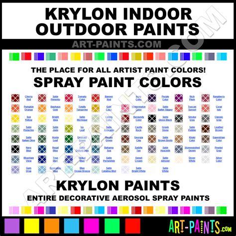 krylon indoor outdoor spray paint aerosol colors krylon indoor outdoor paint decorative colors