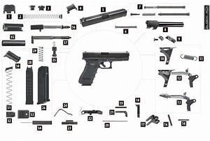 6 Best Images Of Glock 22 Nomenclature Diagram Printable