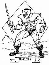 Coloring Pages He Masters Triclops Tri Klops Universe Printable Skeletor Drawing Heman Boys Books Drawings Motu Pop Recommended Birthday Stencils sketch template