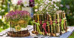 Basteln Mit Senioren Sommer : tischdeko mit blumen blumenk rbchen basteln ~ Eleganceandgraceweddings.com Haus und Dekorationen