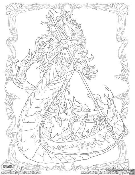 doodles designs  art  christopher burdett dungeons dragons monsters  heroes