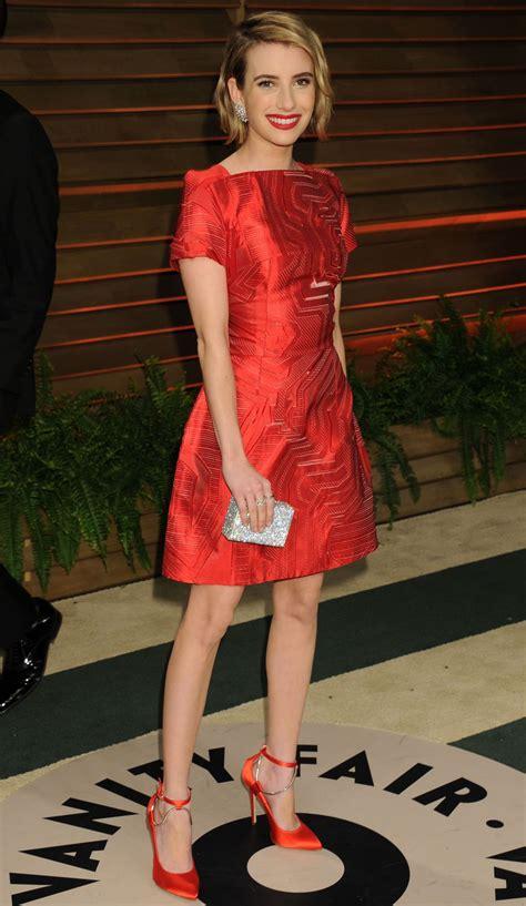 Emma Roberts Vanity Fair Oscar Party Hollywood