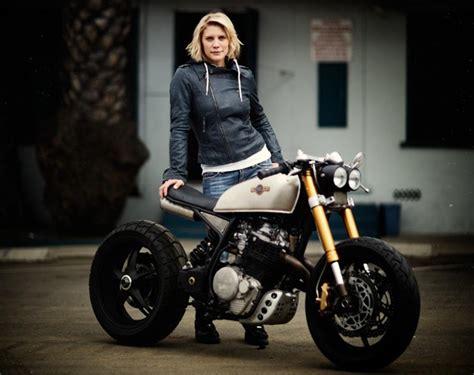 Katee Sackhoff's Customized Bike Is Badass