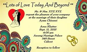 Wedding invitation cards maker android apps on google play for Wedding invitation free online for whatsapp