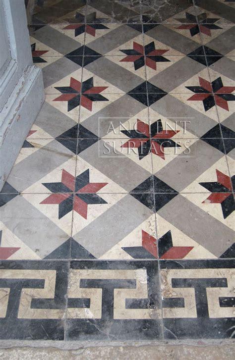 rare collection  ancient encaustic cement