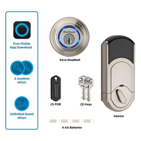 best bluetooth door lock kwikset kevo 1st smart lock with keyless bluetooth