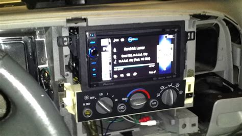 Double Din Installation On A 99 Chevy Tahoe Pt. 2
