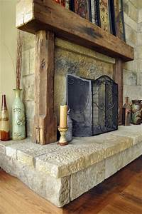 antique fireplace mantels traditional living room With barn beam mantels for sale