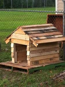 Unique and pretty diy wooden pallet projects dearlinks for Diy outdoor dog house