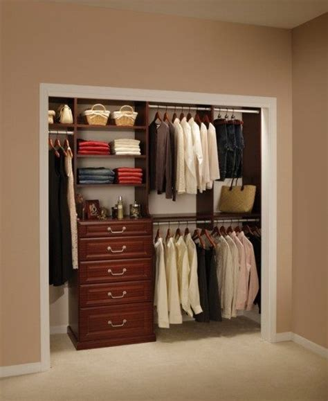 Bedroom Closet Design by Fabulous Closet Ideas For Small Bedrooms Wooden Style
