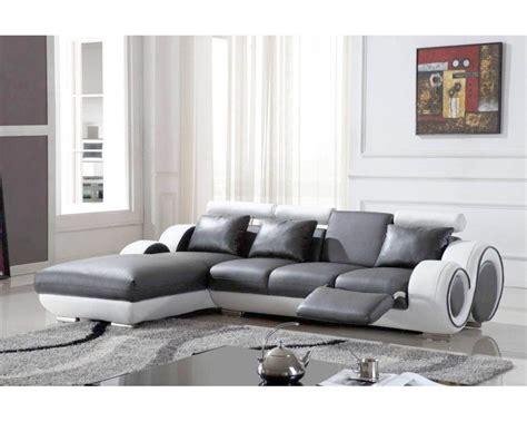 deco canapé gris canape cuir blanc et gris 28 images canap 233 d angle