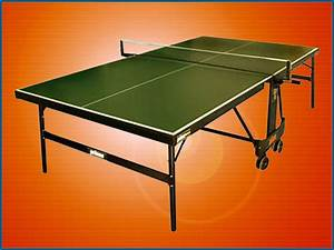How Fold Kettler Ping Pong Table   The Creative Room