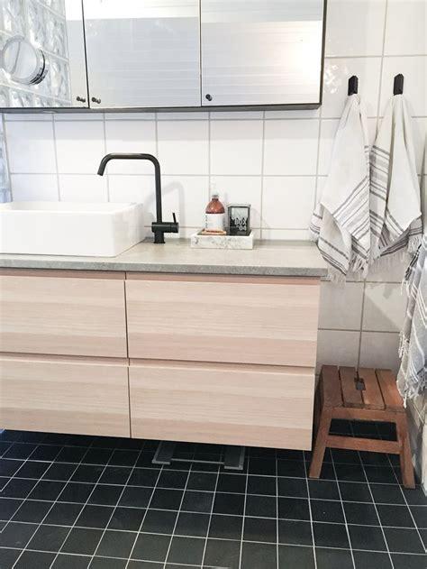 ikea hack  godmorgon cabinet  whitewashed oak