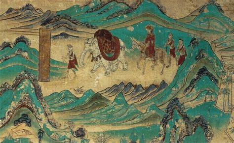 filexuanzang returned  india dunhuang mural cave