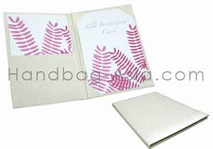 classic plain ivory wedding folder for invitation cards With plain pocket wedding invitations