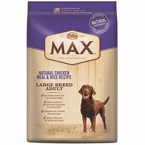 nutro max large breed chicken rice adult dog 15 lb With nutro max large breed dog food