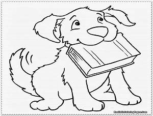Realistic Dog Coloring Pages Free Coloring Pages 164097 ...