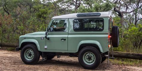 red land rover old land rover defender production to end january 2016