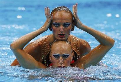 Swimmers Olympic Synchronized Transformed Demons Into Swimming