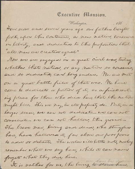 gettysburg address wikipedia
