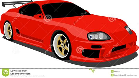 Free Car Wallpapers Automobiles Toyota by Toyota Supra Sports Car Royalty Free Stock Photos