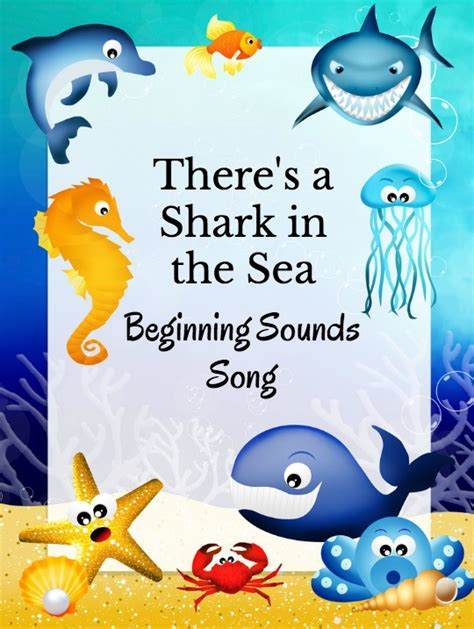 preschool shark song shark beginning sounds song growing book by book 651
