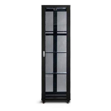 fully assembled dvd cabinet serveredge 42ru 600mm wide 1000mm deep fully assembled