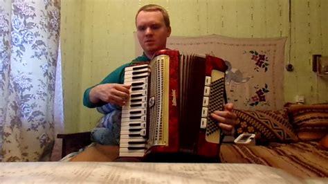 Zilais lakatiņš akordeons - YouTube