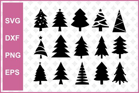 1920 px x 1280 px in each type thanks for downloading, see all my pictures. Christmas Tree Cut Files Bundle | Vectorency