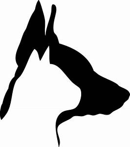 Dog And Cat Silhouette Clip Art Pictures to Pin on ...