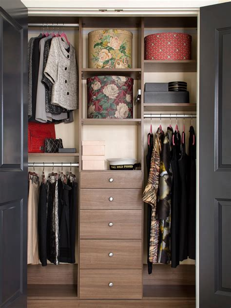 closet organization ideas hgtv