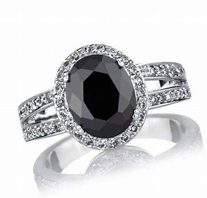 luxury black diamond engagement rings meaning With what does a black wedding ring mean