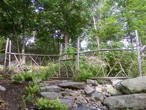 business expansion rustic garden fences support