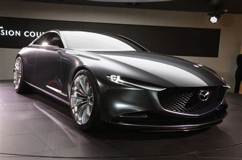 Mazda Concept Car by The Mazda Vision Coupe Concept Is One Gorgeous Sedan