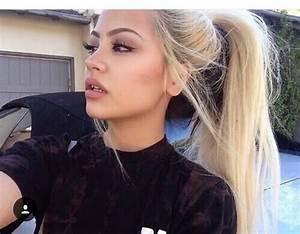 tumblr, messy hair, tumblr girls, black, blonde - image ...
