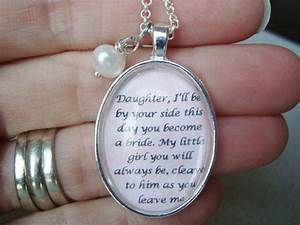 mother to daughter bridal pendant necklace by With wedding gift from mother to daughter