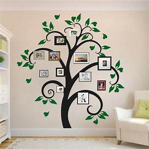 Picture frame tree wall decal decals trendy