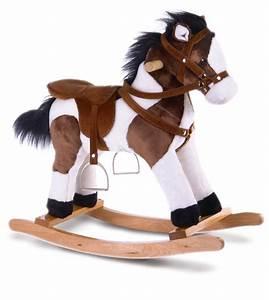 Cheval A Bascule : impression de l 39 article peluche cheval bascule 70cm chez doudou ~ Teatrodelosmanantiales.com Idées de Décoration