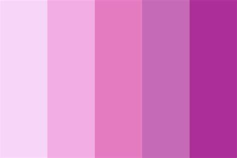 pink color palette sea of pink color palette