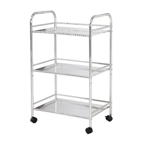 stainless steel kitchen storage rack multifunction stainless steel kitchen shelving shelf 8281