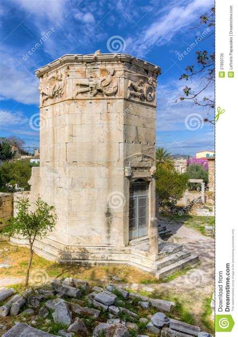 Tower Of The Winds, Athens, Greece Royalty Free Stock ...