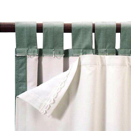 Blackout Drape Liner - roc lon blackout energy efficient curtain panel liner