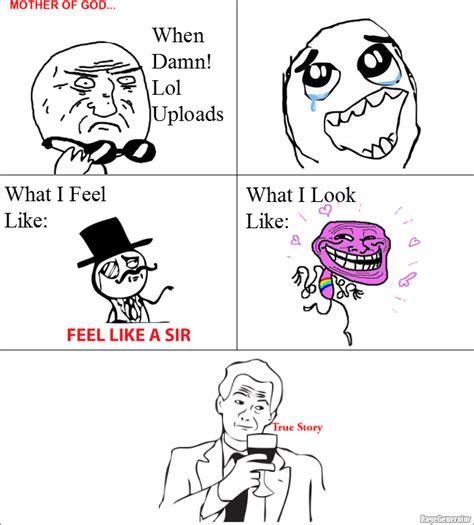 Damn Lol Memes - ragegenerator rage comic when damn lol uploads