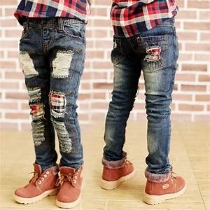 2015 Korean faashion boys jeans boys ripped jeans ripped jeans for boys pant boys clothing kids ...