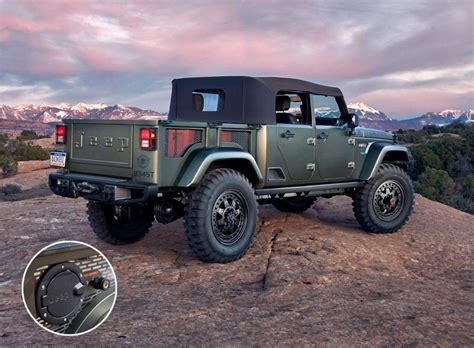 Jeep Wrangler Crew Chief by Jeep Crew Chief 715 The Concept Jeep Should Build 95 Octane
