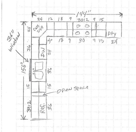 kitchen cabinets measurements sizes some important things to notice before deciding the 6216
