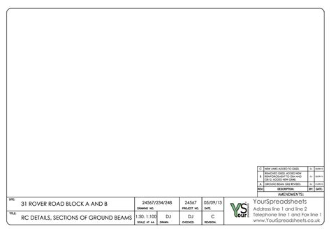 Acad Template by Best Photos Of Drawing Title Block Template Autocad